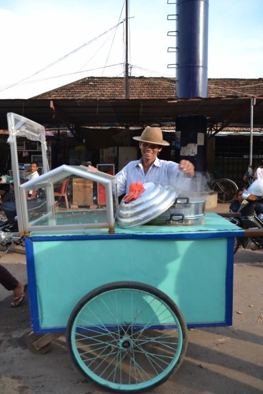 Brioches à la vapeur, Kampot, Cambodge (Copier)